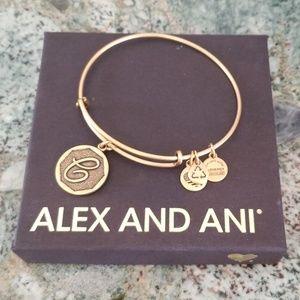 NWOT ALex and Ani Expandable Charm Bracelet